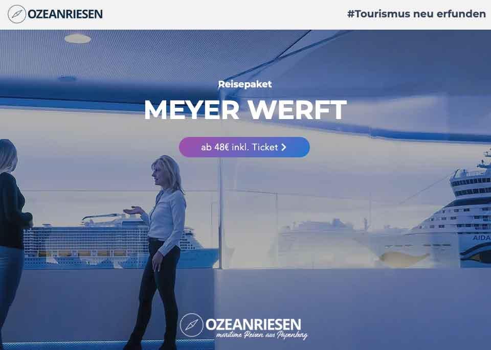 Meyer Werft Papaenburg Partnerprogramm