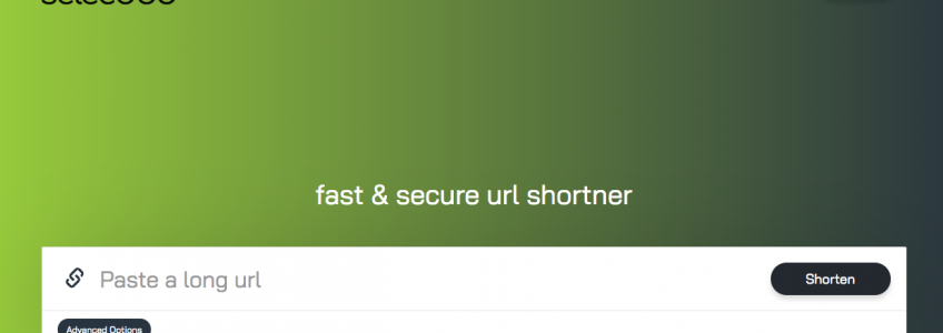 Der Selecdoo URL Shortner