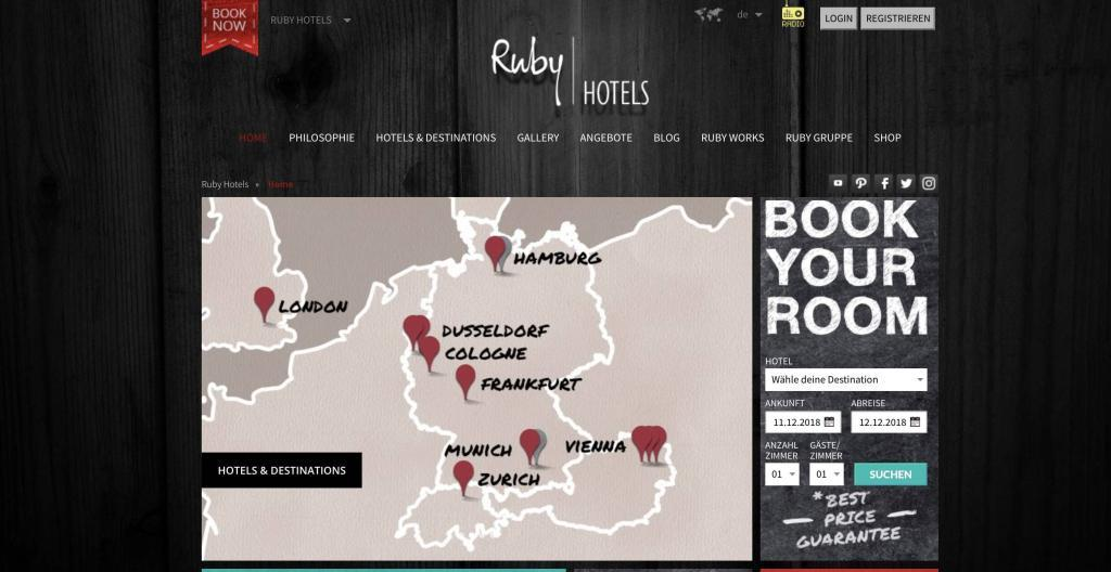 Ruby Hotels Partnerprogramm Vorschau