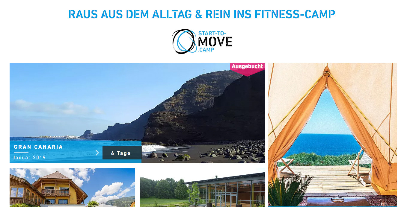 Partnerprogramm Start to Move Camp