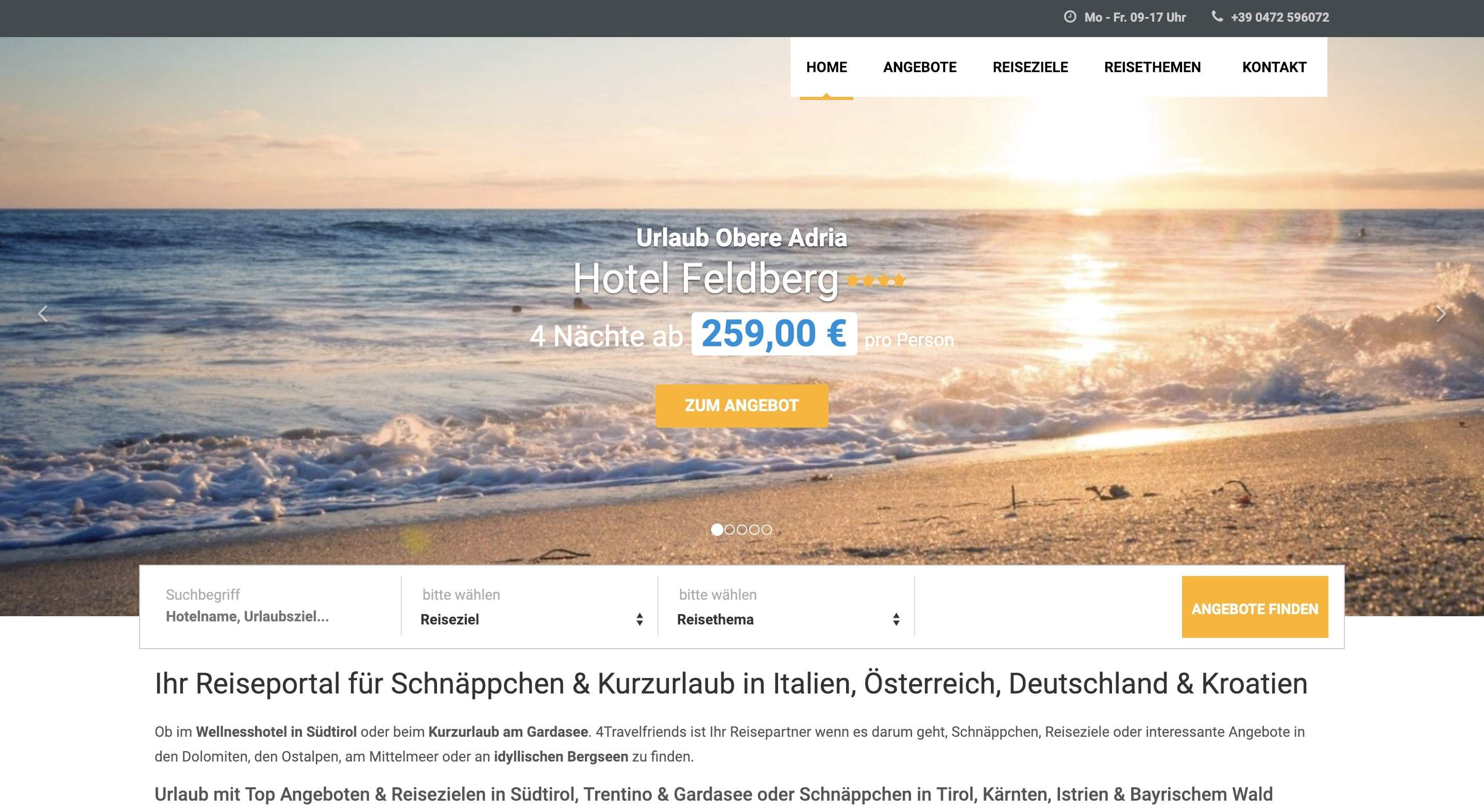 4travelfriends Partnerprogramm