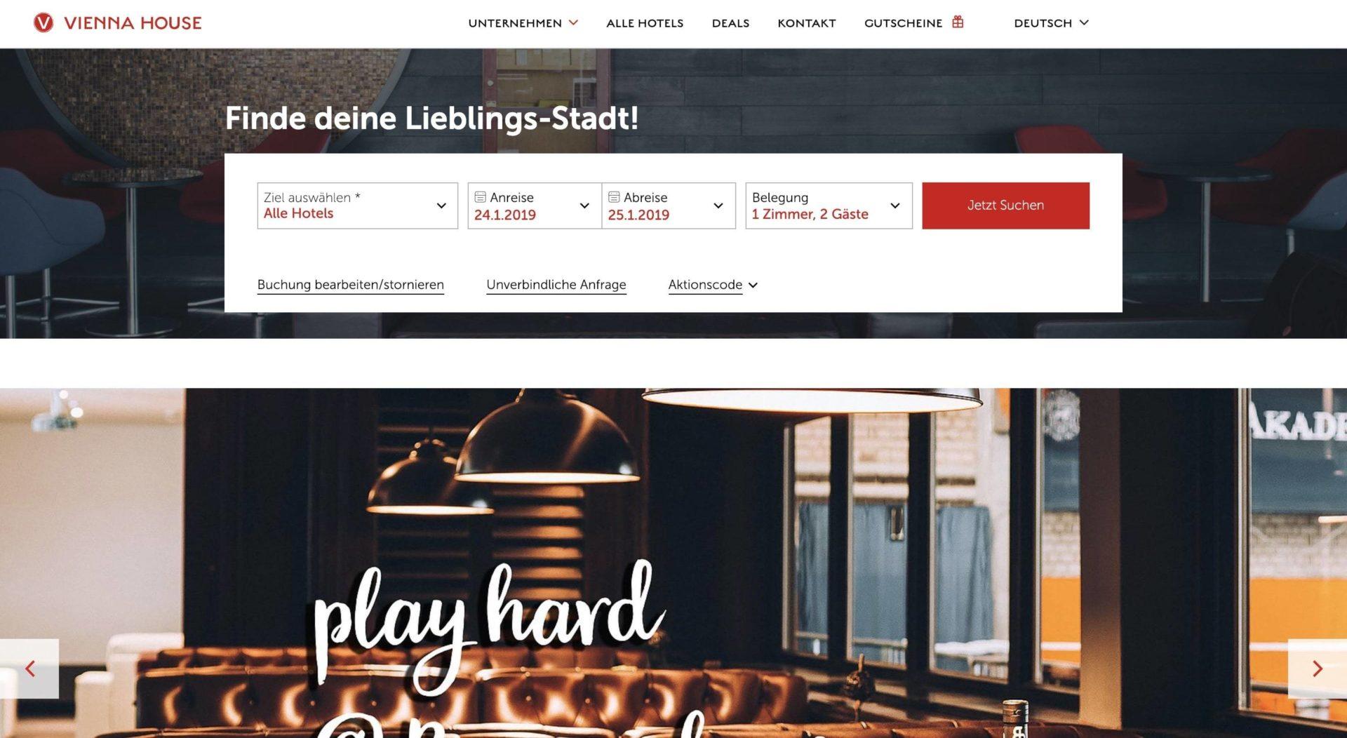 Vienna House Partnerprogramm