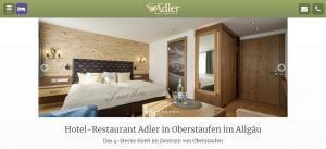 Hotel Adler Partnerprogramm Website