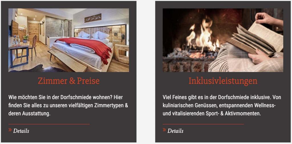 Hotel Zur Dorfschmiede Partnerprogramm Zimmer