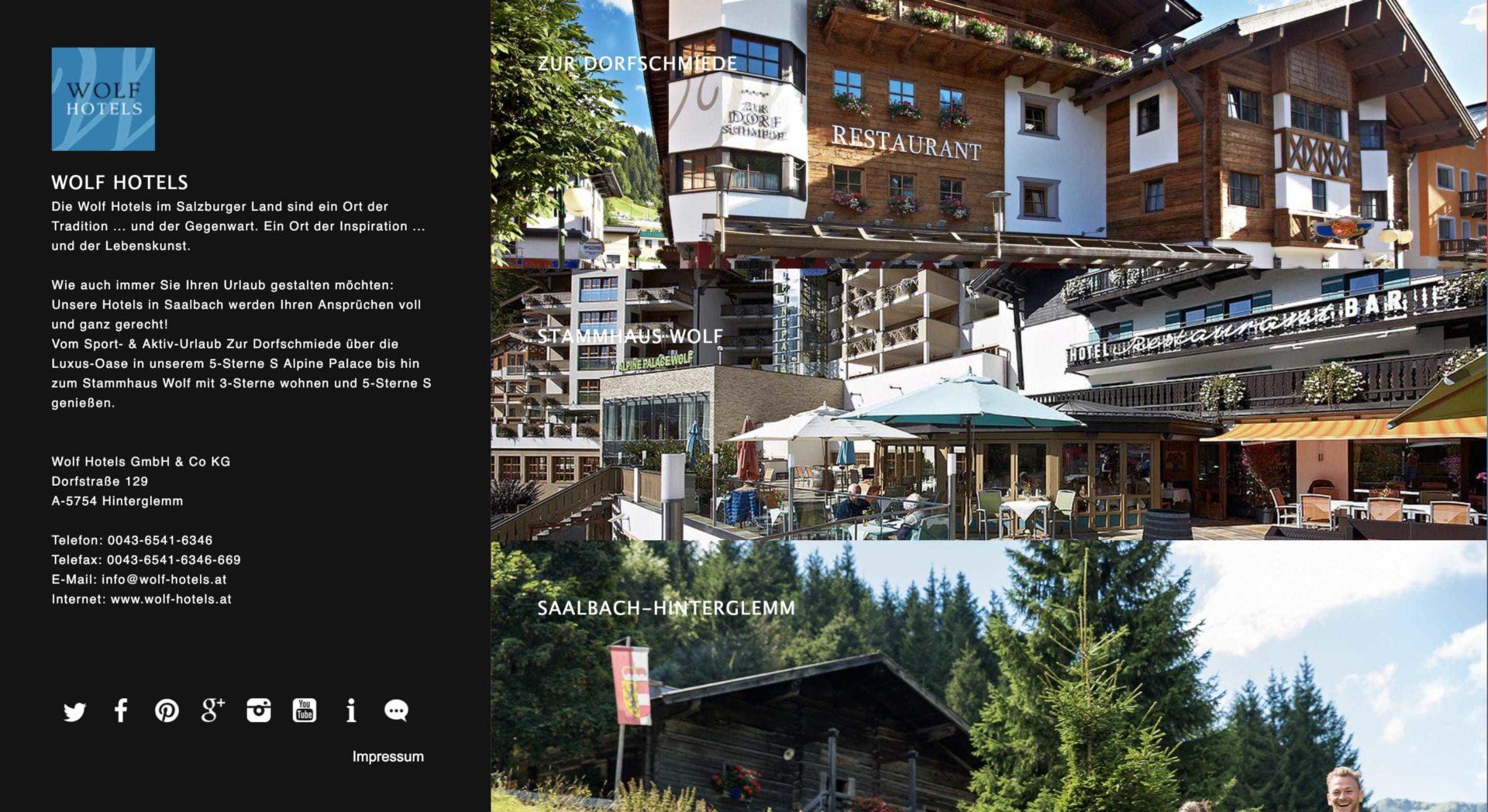 Wolf Hotels Partnerprogramm Vorschau