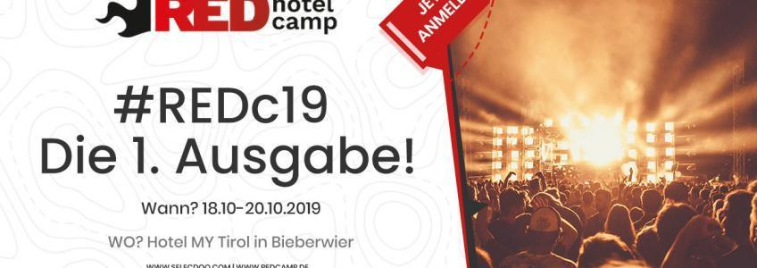 RED Hotel Camp 2019 – Die 1. Ausgabe