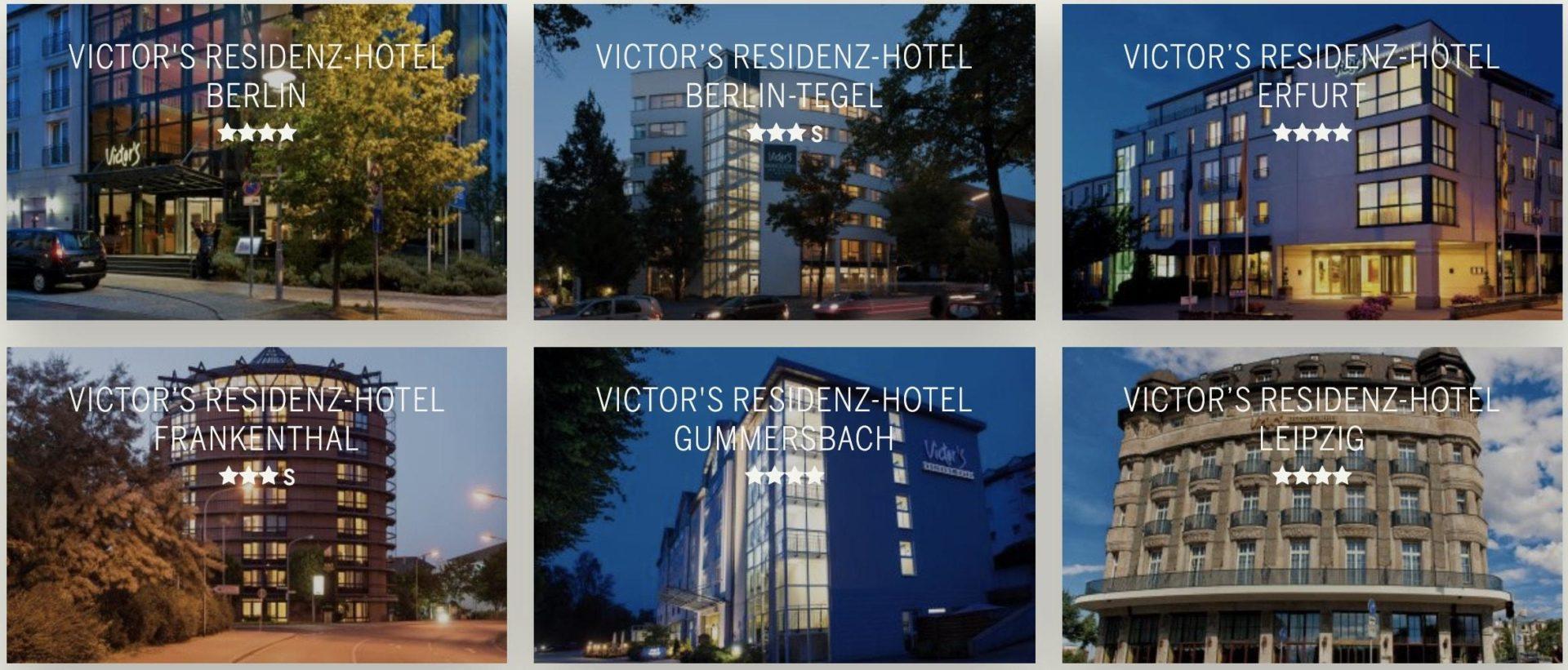 Victors Residenz Partnerprogramm Hotels
