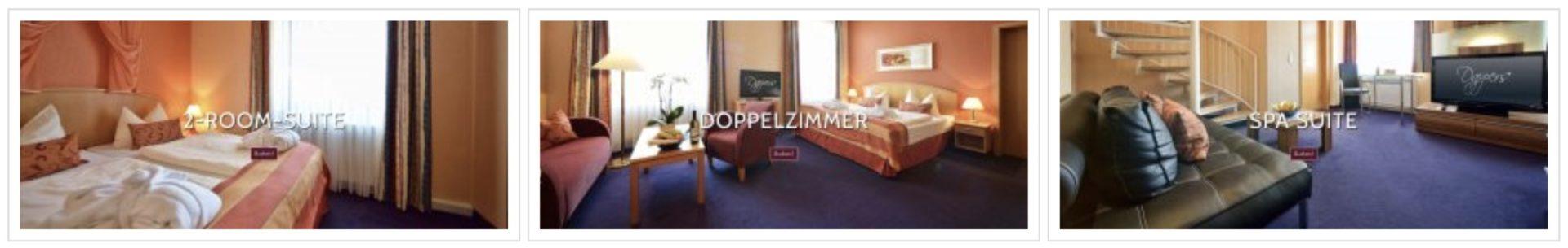 Dappers Hotel Bad Kissingen Zimmer