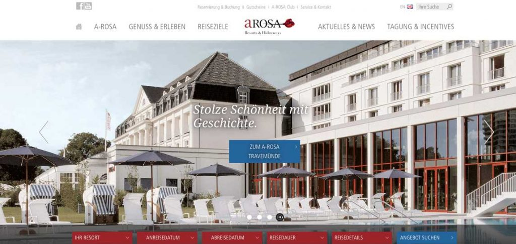 Arosa Resorts Partnerprogramm